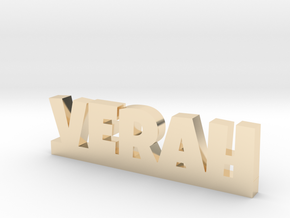 VERAH Lucky in 14k Gold Plated Brass
