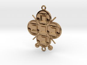 Pendant Veritamour in Polished Brass