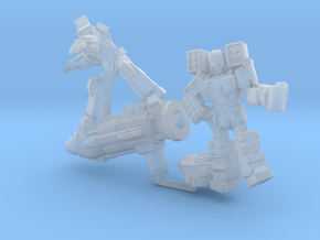 """""""When the Cons Are Away"""" Mini 2-Pack, 35mm in Smooth Fine Detail Plastic"""