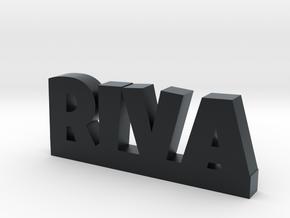 RIVA Lucky in Black Hi-Def Acrylate