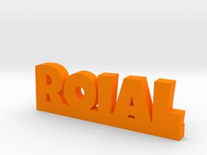 ROIAL Lucky in Orange Processed Versatile Plastic