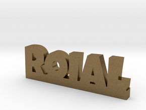 ROIAL Lucky in Natural Bronze