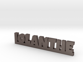 IOLANTHE Lucky in Polished Bronzed Silver Steel