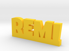 REMI Lucky in Yellow Processed Versatile Plastic