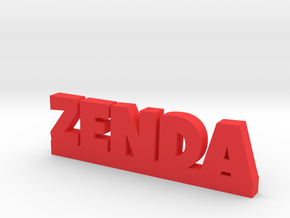 ZENDA Lucky in Red Strong & Flexible Polished