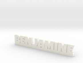 BENJAMINE Lucky in White Strong & Flexible Polished