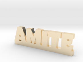 AMITE Lucky in 14k Gold Plated Brass