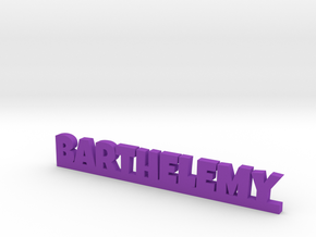 BARTHELEMY Lucky in Purple Strong & Flexible Polished