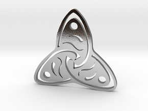 Rune Symbol  in Polished Silver