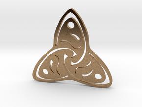 Rune Symbol  in Natural Brass