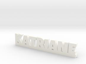 KATRIANE Lucky in White Processed Versatile Plastic