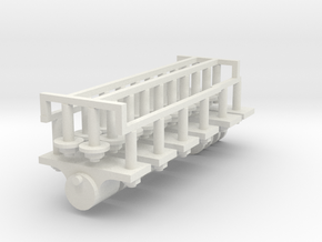 Axle boxes and coupling 7/8n2 in White Natural Versatile Plastic