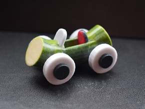 Cucumber Car 2 in Glossy Full Color Sandstone