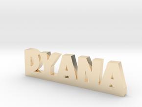 DYANA Lucky in 14k Gold Plated Brass