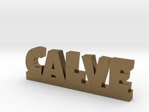 CALVE Lucky in Natural Bronze