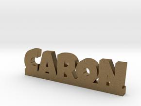 CARON Lucky in Natural Bronze