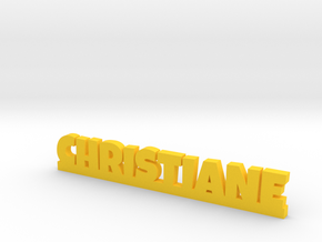 CHRISTIANE Lucky in Yellow Processed Versatile Plastic