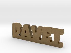 DAVET Lucky in Natural Bronze