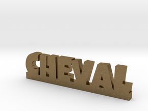 CHEVAL Lucky in Natural Bronze