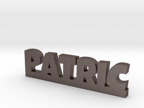 PATRIC Lucky in Polished Bronzed Silver Steel