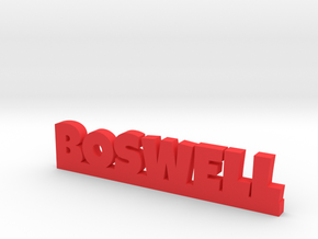BOSWELL Lucky in Red Processed Versatile Plastic