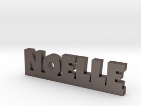 NOELLE Lucky in Polished Bronzed Silver Steel
