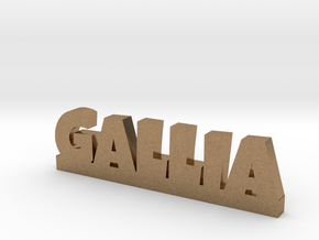 GALLIA Lucky in Natural Brass