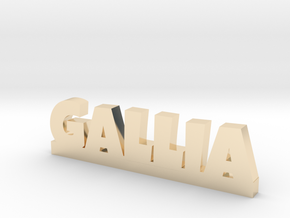 GALLIA Lucky in 14k Gold Plated Brass