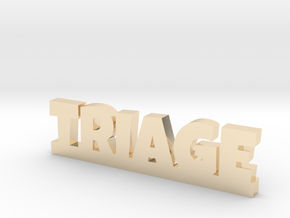 TRIAGE Lucky in 14k Gold Plated Brass