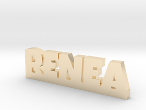 RENEA Lucky in 14k Gold Plated Brass