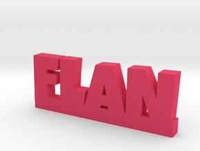 FLAN Lucky in Pink Processed Versatile Plastic