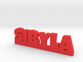 SIBYLA Lucky in Red Strong & Flexible Polished