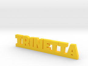 TRINETTA Lucky in Yellow Strong & Flexible Polished