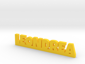 LEONDREA Lucky in Yellow Strong & Flexible Polished