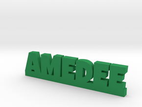 AMEDEE Lucky in Green Strong & Flexible Polished