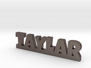 TAYLAR Lucky in Polished Bronzed Silver Steel