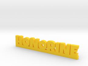 HONORINE Lucky in Yellow Processed Versatile Plastic