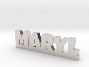 MARYL Lucky in Rhodium Plated Brass