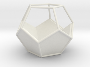 Geometric Terrarium in White Strong & Flexible