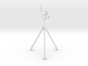 MG81Z Tripod GunMount 1:6 in White Natural Versatile Plastic