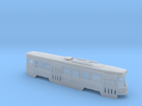 HO Scale CLRV Double-Ended Version Body Shell in Smooth Fine Detail Plastic