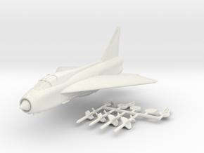 1/200 BAC Lightning T.4 in White Natural Versatile Plastic
