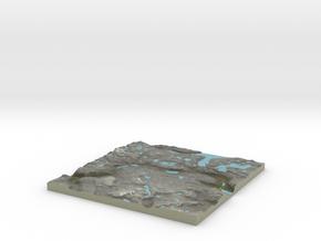 Terrafab generated model Thu Jan 12 2017 11:04:23  in Full Color Sandstone