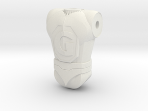 Ginormo Torso 130 in White Natural Versatile Plastic