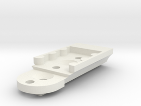 KMD-FR01 T-Plate Holder Long in White Strong & Flexible