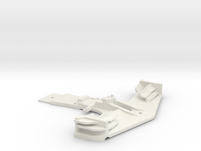KMD-FR01 Front Bumper in White Strong & Flexible