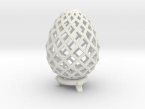 Pane Easter Egg in White Strong & Flexible