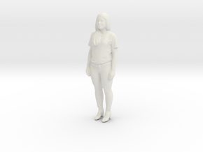 Printle C Femme 407 - 1/24 - wob in White Natural Versatile Plastic