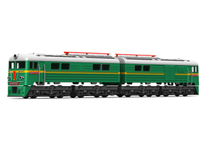 Soviet double-unit electric locomotive class VL8 in Smoothest Fine Detail Plastic