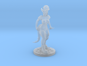Dnd Tiefling Miniature in Smooth Fine Detail Plastic